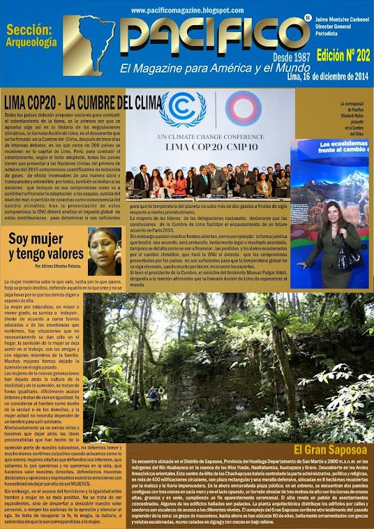 Revista Pacífico Nº 202 Arqueología