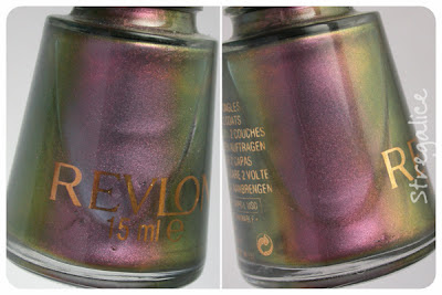 Revlon Kiwizing vintage duochrome detail purple green