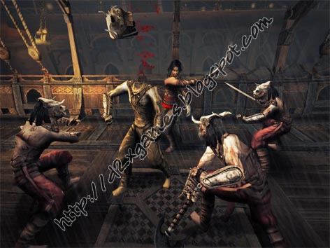 Free Download Games - Prince Of Persia Warrior Within