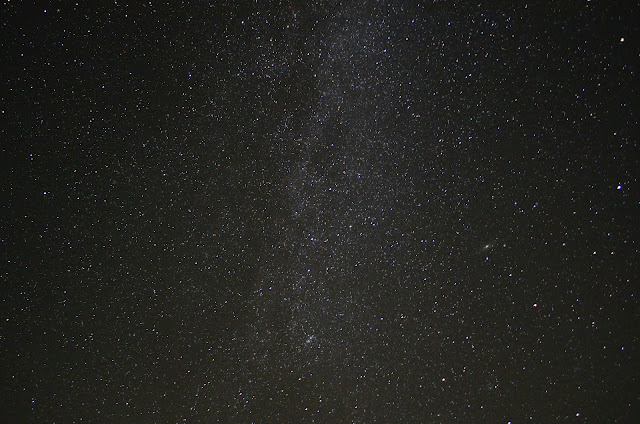 The Milky Way from my backyard!