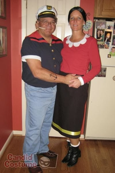 popeye and olive oil halloween costumes