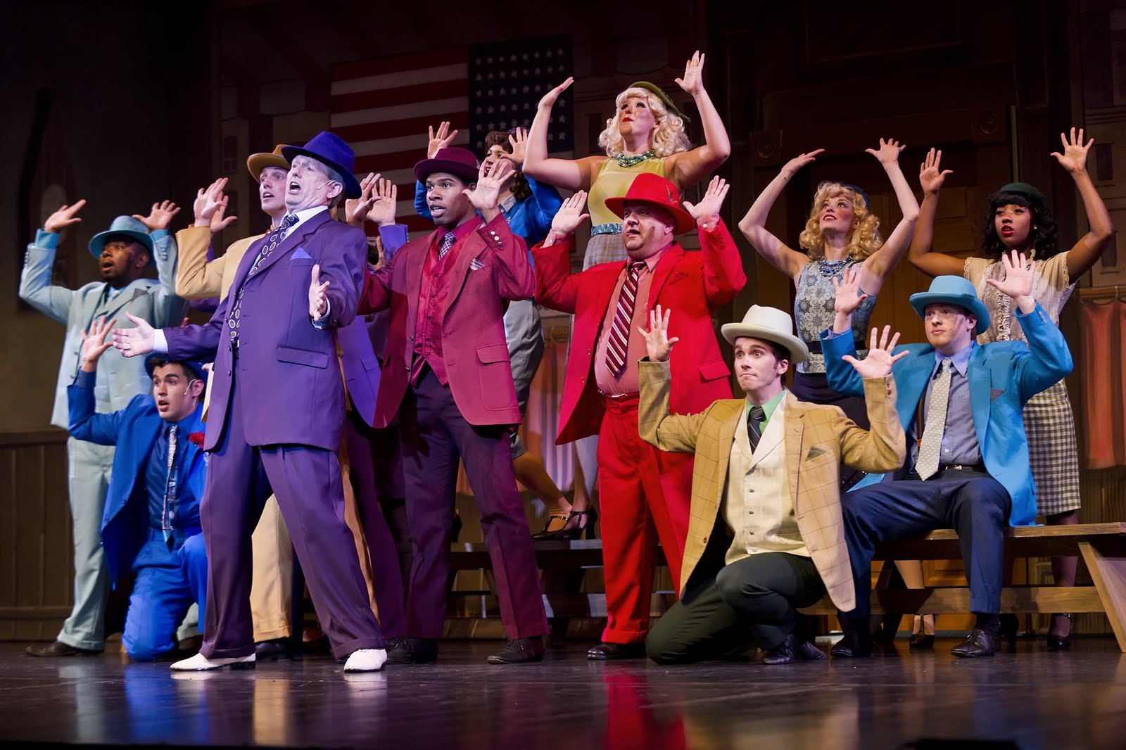 an analysis of guys and dolls performed in the murray kahn theater It's a tale as old as time about a beast, a beauty, and a happily ever after ending its disney's beauty and the beast, which was performed with skill this past saturday by south county secondary school.