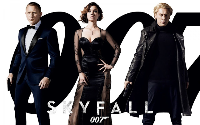 Skyfall PowerPoint background 10