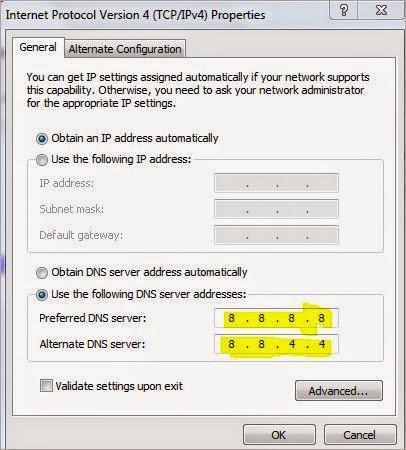 Setting DNS, anda ingintahu, Internet Cepat
