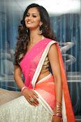 Shubra Aiyappa glamorous in half saree-thumbnail-17