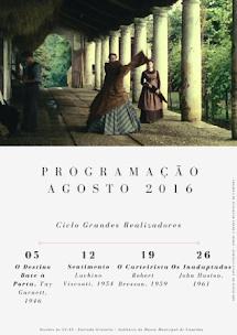 CAMINHA: PROGRAMAÇÂO DO CINECLUBE DE CAMINHA PARA AGOSTO