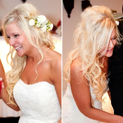 carrie underwood wedding make up Carry Underwoods wedding dress