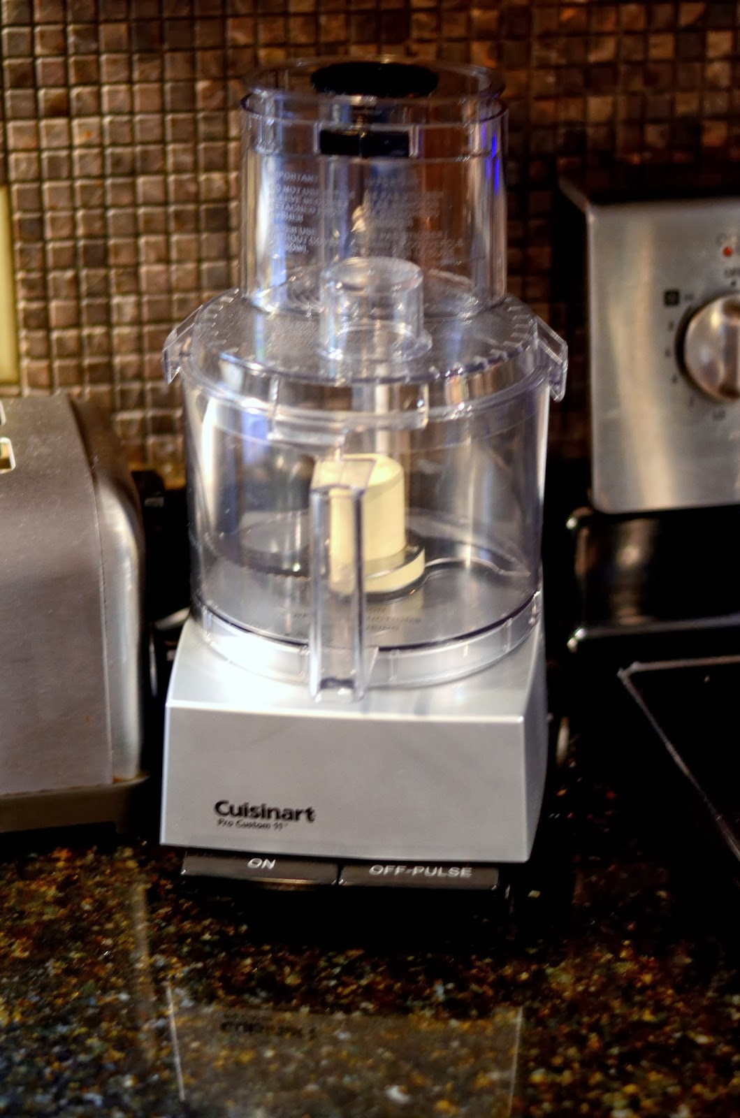 Toy Food Processor : Food for flicks my new toy cuisinart pro custom cup