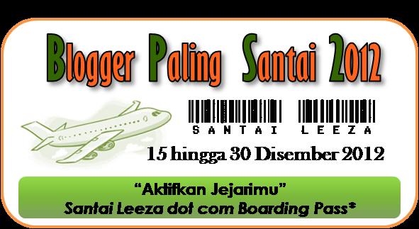 Blogger Paling Santai 2012