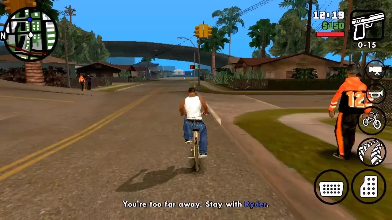 Download Grand Theft Auto : San Andreas v1.05 (Dunia Android)