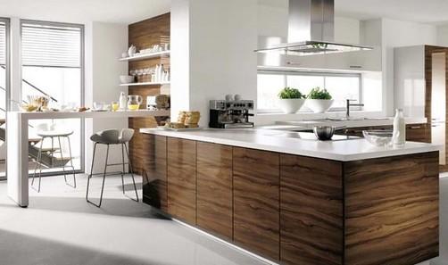 Cocinas Modernas De Madera - Diseños Arquitectónicos - Mimasku.com