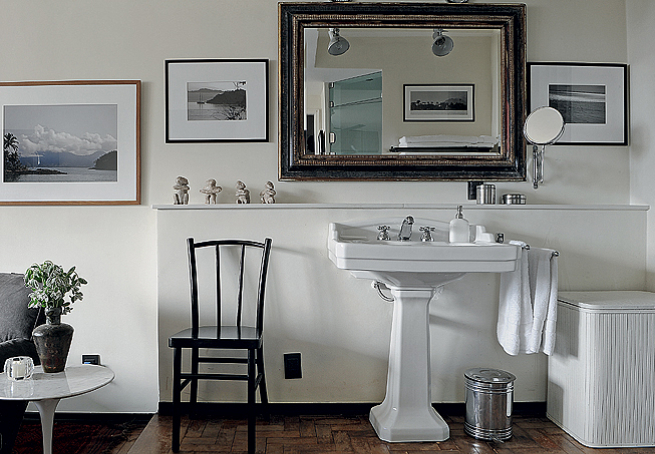 decoracao banheiro retro : decoracao banheiro retro:Arqteturas: Lavatório retro no banheiro
