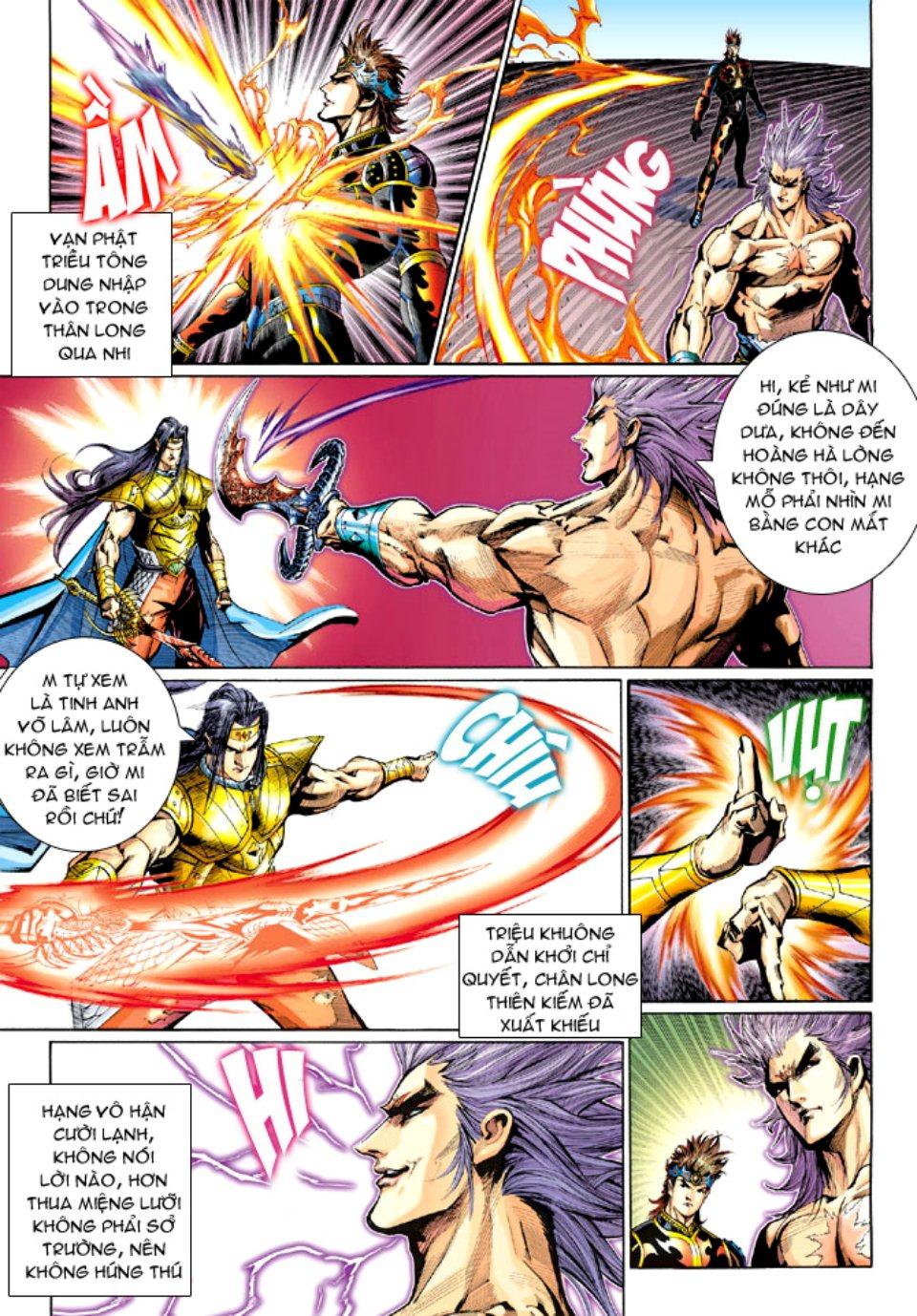 Thiên Tử Truyền Kỳ 5 - Như Lai Thần Chưởng chap 212 - Trang 25