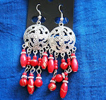Tibetan Silver Earring