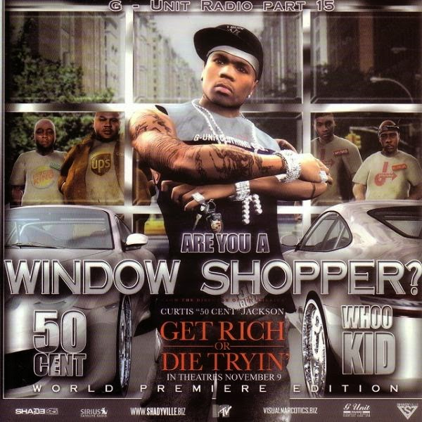 50 cent window shopper cd 50 cent buys vitamin water 50 cent vitamin