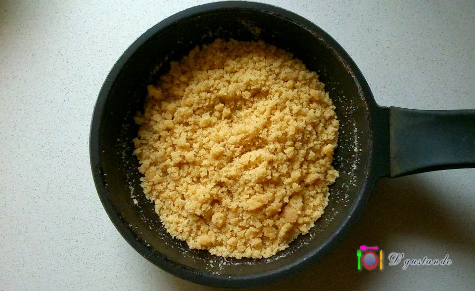 Preparamos el pan de rallado de frutos secos