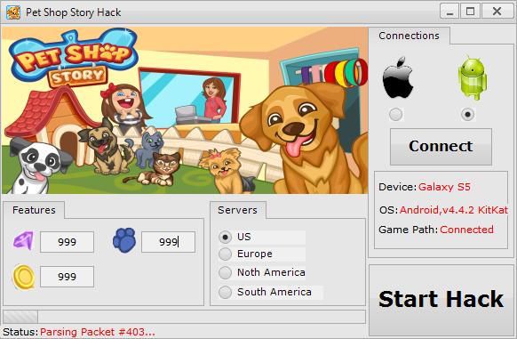 download pet shop story hack