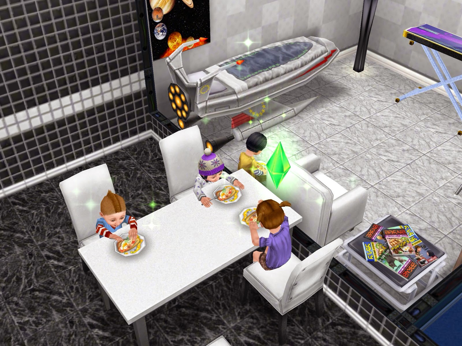 Wonderful image of Missy's Sims and Stuff: The Sims Freeplay ~ Bread Winner Quest  with #82673F color and 1600x1200 pixels