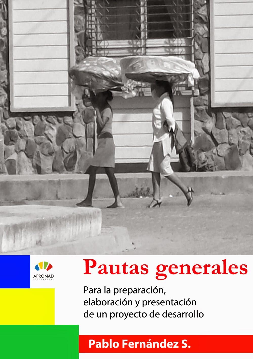 PAUTAS GENERALES: para la preparación, elaboración y presentación de un proyecto de desarrollo