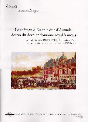 Le château d'Eu et le duc d'Aumale,