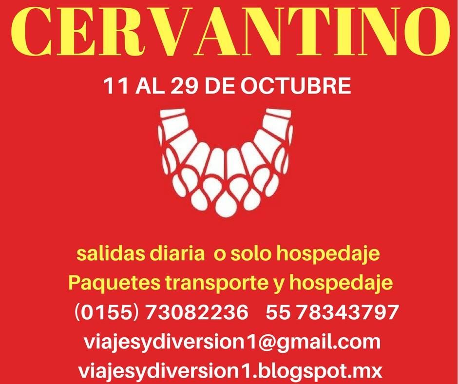 #viajealcervantino #cervantino2017