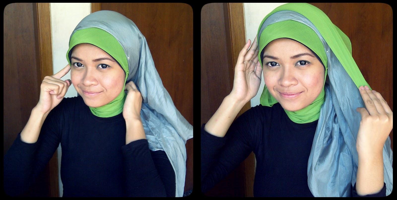 Hijabers Tutorial Sakinah Kreasi Jilbab Paris Cute Pink