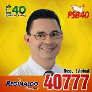 REGINALDO CAMPOS - N° 40.777 ESTADUAL/CARLOS ALBERTO N°. 4077 - PSB