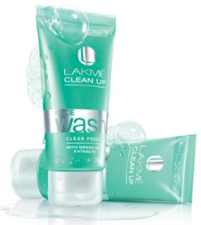 Lakme Clear Pores Clean-Up Face Wash
