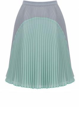 pastel pleats