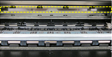 tira de codificador en impresoras canon