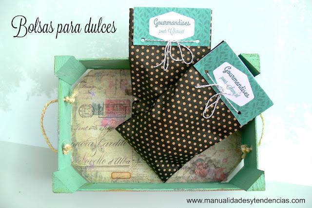 Etiquetas para bolsas de dulces personalizadas