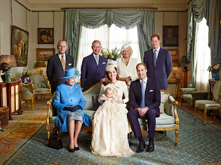 Official Photos of George Alexander Louis from Royal Christening