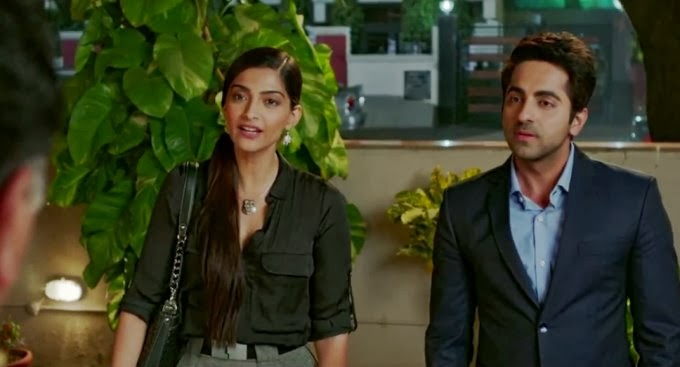 Sonam Kapoor and Ayushmann Khurrana xxx porn pics