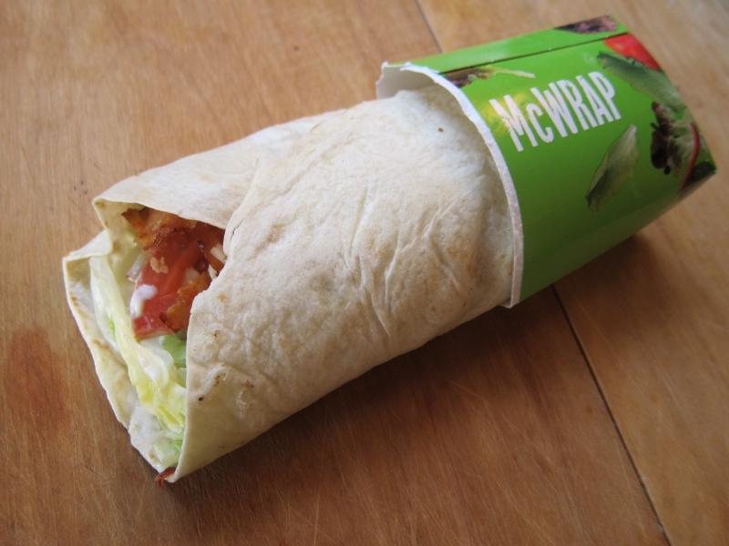 Image result for mcdonaldsgrilled chicken wrap