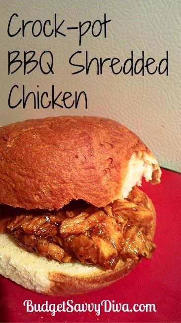 Coupon Clipping Moms: Crock Pot Bar-B-Q Shredded Chicken Recipe