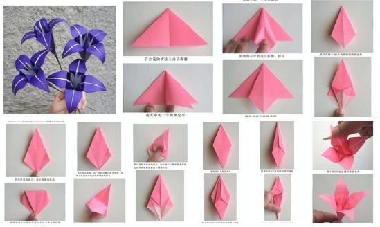 Paso a paso rosa de origami - Imagui