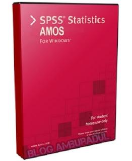 Software SPSS Amos 21 terbaru full version