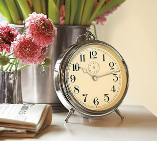 love this worldly clock that I have in my office bookcase. All it ...