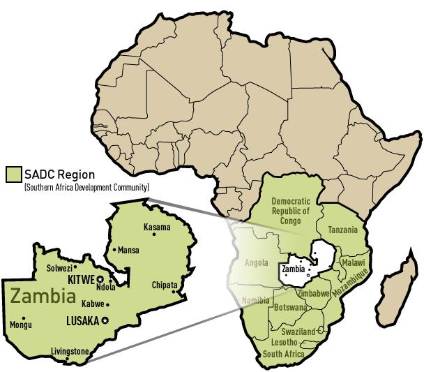Entrepreneurship In Africa - Where is zambia