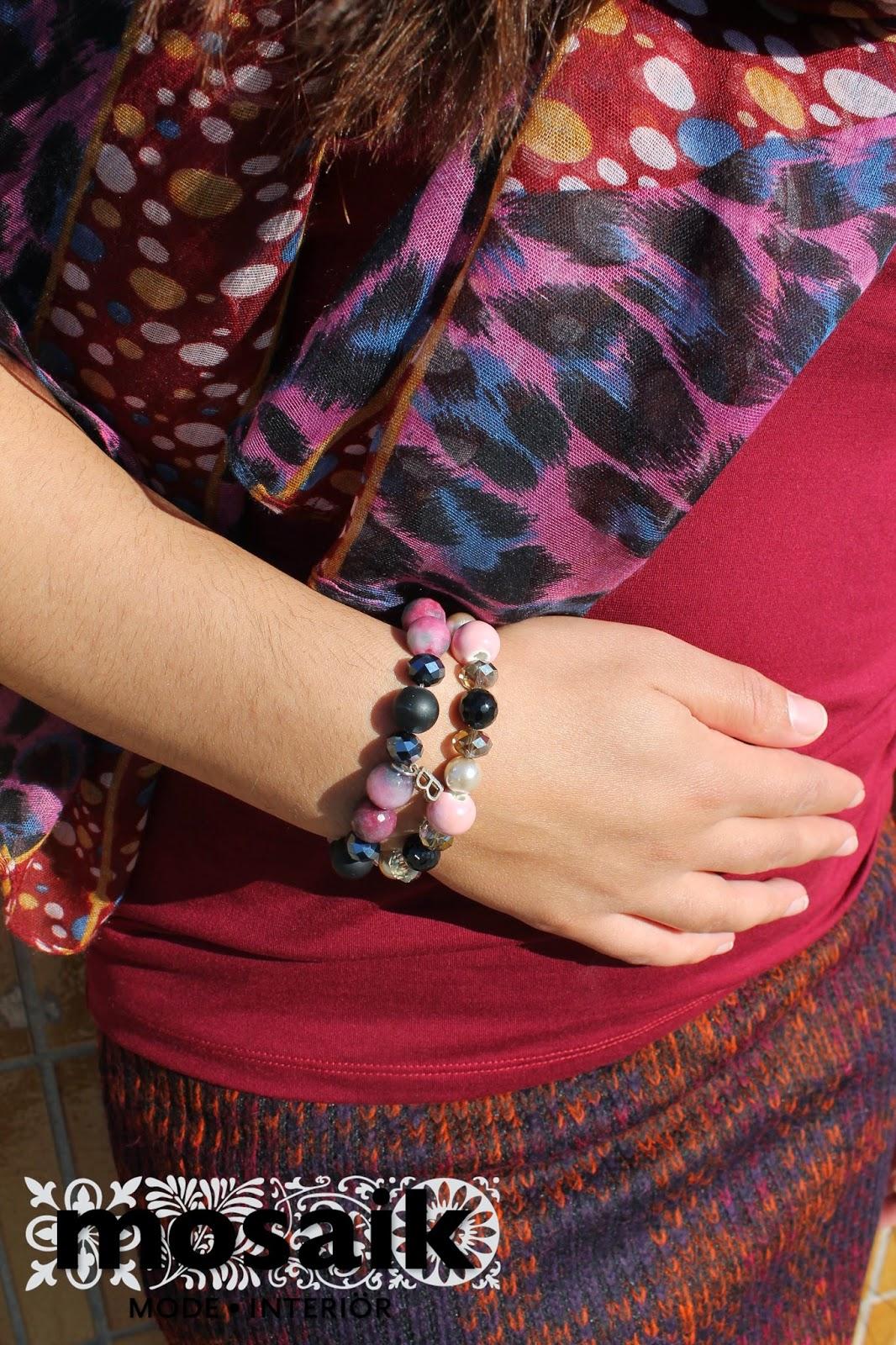 Armband från Lotta design och Baglady