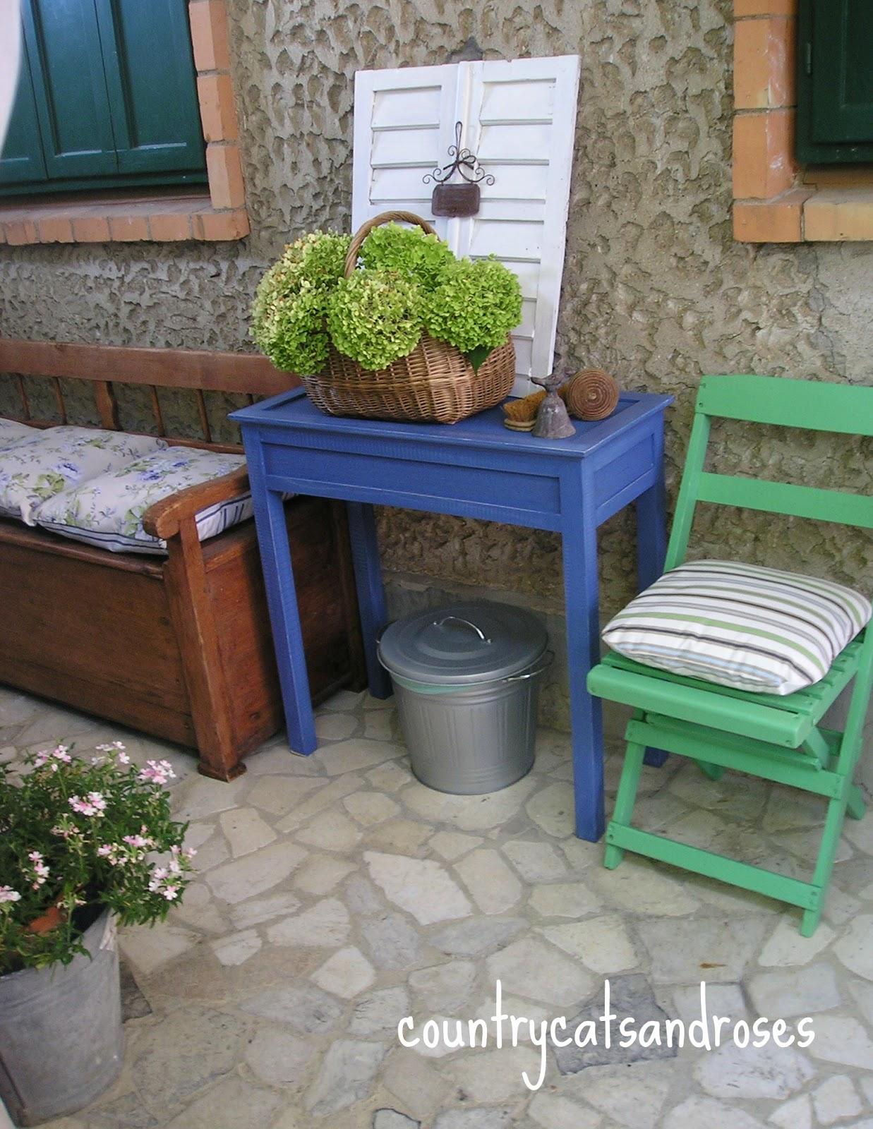 Piacere Di Rinnovare Gli Spazi All'aperto Con Il Colore! (2° Parte #314878 1237 1600 Ikea Gambe Per Tavoli