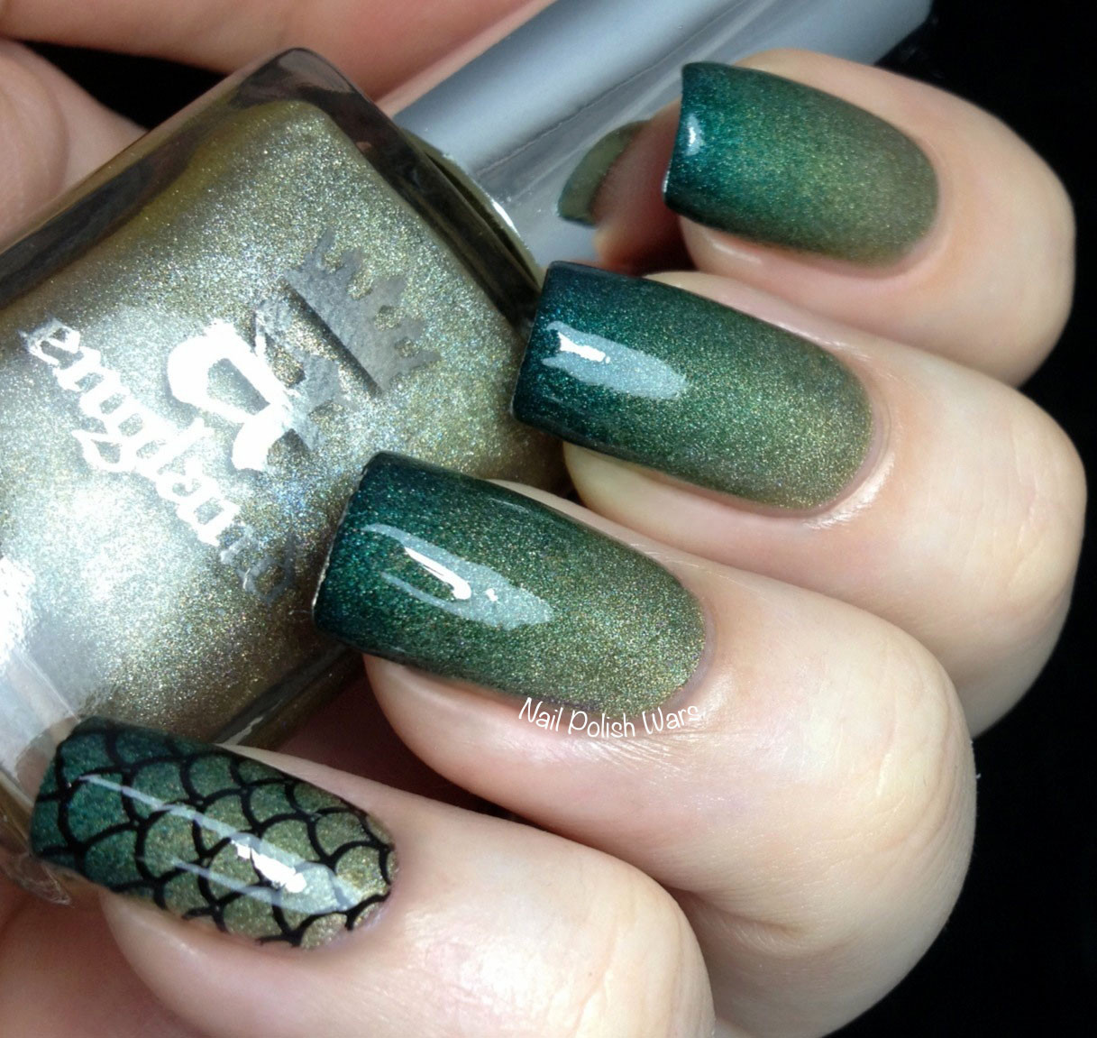- Nail Polish Wars: Dragon Scales