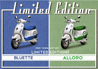 Vespa Limited Edition LX150 2 Tone