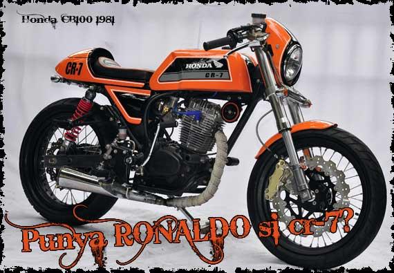 Tag : Honda CB modif kuning, Honda CB trends Modifikasi title=