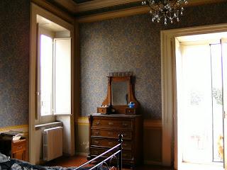 angolo camera da letto