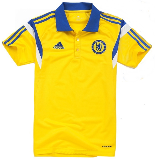 New 2015 Chelsea POLO T-shirt Thai best Quality Chelsea 14 15 POLO soccer jerseys