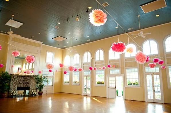 De casamiento con adorno flores para bodas decoracion for Decoracion con papel