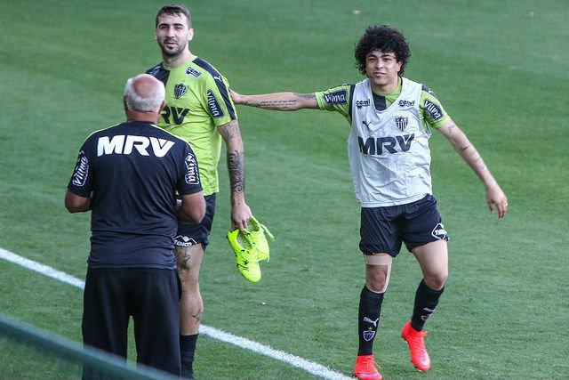 Após lesões, Luan e Lucas Pratto estão prontos para retornar ao time do Galo (Foto: Divulgação)