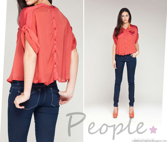 PEOPLE BOUTIQUE: Blusas de Chifon las màs Chic de la temporada.