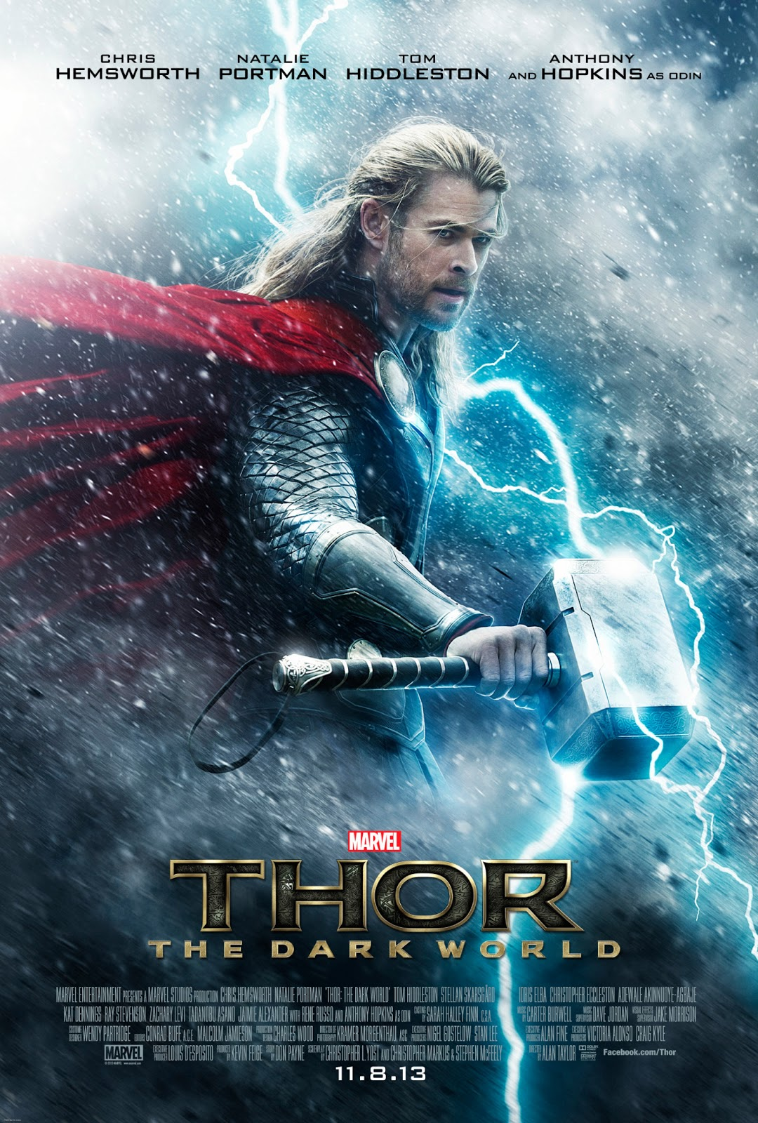 Teaser poster for Thor: The Dark World
